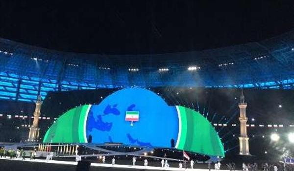 90 ميدالية ملونة حصيلة ايران في دورة التضامن الاسلامي