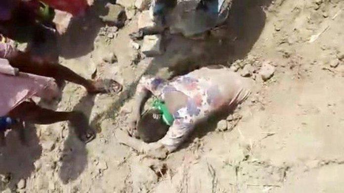 نجات معجزهآسای دختری که زنده به گور شده بود!