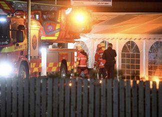 بزرگترین مسجد شیعیان سوئد به آتش کشیده شد