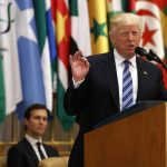 تحلیل بیبیسی از سخنرانی پرتناقض ترامپ در عربستان