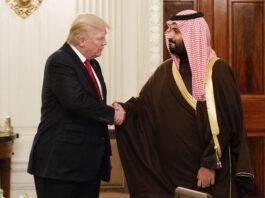 Donald Trump- Mohammed bin Salman