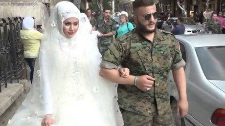 صدای ساز و دهل دوباره در حلب طنینانداز شد