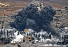 کشتار بیش از 100 کودک و زن در حملات هوایی آمریکا علیه سوریه