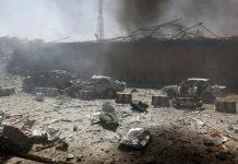افزایش تلفات حمله کابل به بیش از 150 کشته