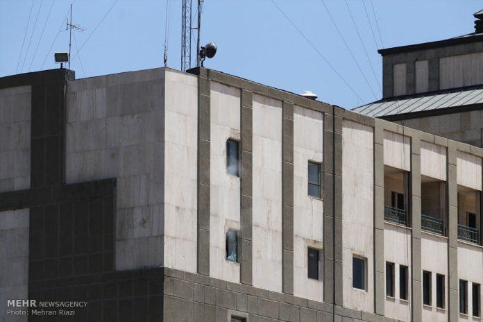 الهجوم المسلح على البرلمان الايراني