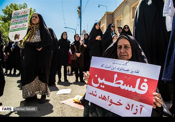 مظاهرات يوم القدس في ارجاء ايران 11