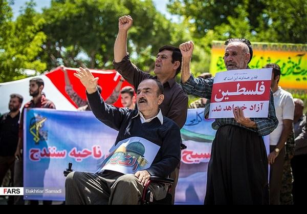 مظاهرات يوم القدس في ارجاء ايران 12