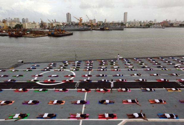 برگزاری مراسم روز جهانی یوگا در بیش از ۱۰۰ کشور جهان13