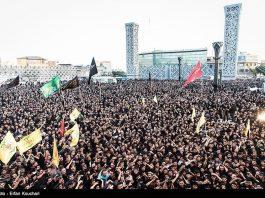 طهران .. المدافعون عن الحرم في ساحة الامام الحسين (ع)