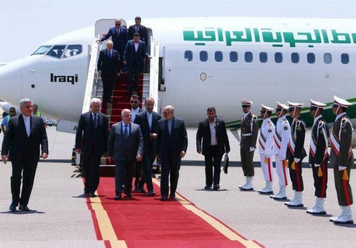 رئيس الوزراء العراقي يحط رحاله بطهران قادما من الرياض