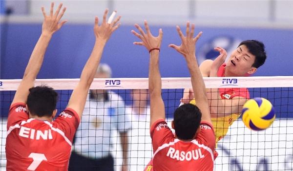 شباب ايران یتغلب على الصين ببطولة العالم للكرة الطائرة