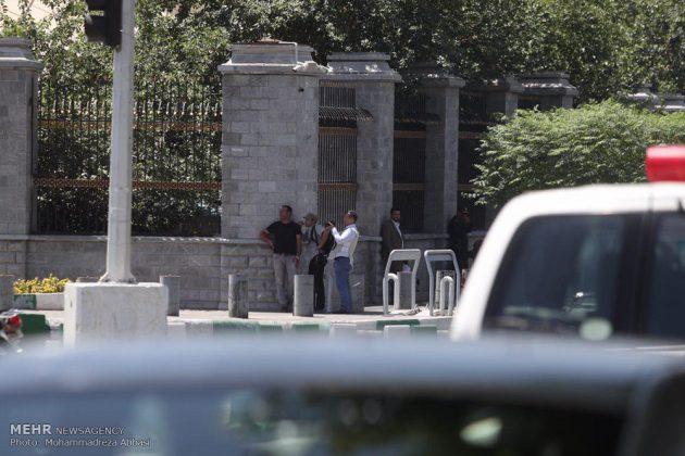 مشاهد من الهجوم المسلح على البرلمان الايراني 14