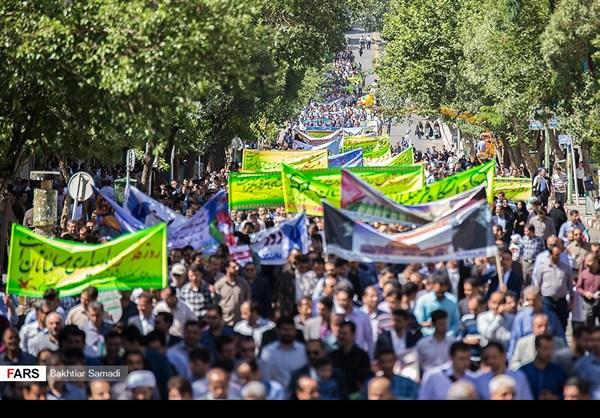 مظاهرات يوم القدس في ارجاء ايران 15