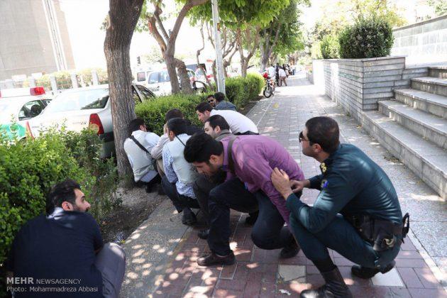 مشاهد من الهجوم المسلح على البرلمان الايراني 16
