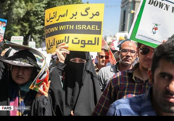مظاهرات يوم القدس في ارجاء ايران 16