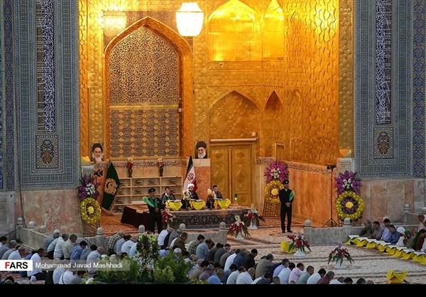 تلاوة القرآن الكريم في رمضان عند مرقد الإمام الرضا (ع)17