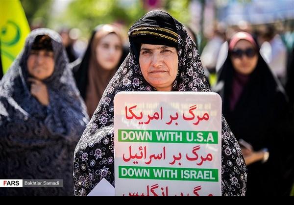 مظاهرات يوم القدس في ارجاء ايران 2