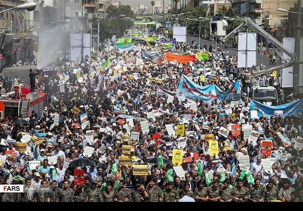 مظاهرات يوم القدس في ارجاء ايران 20