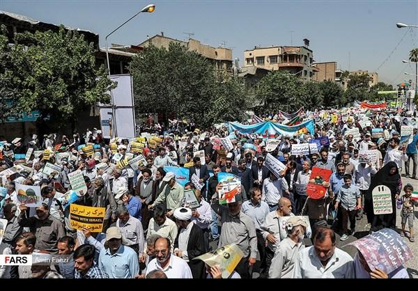 مظاهرات يوم القدس في ارجاء ايران 21