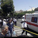 22 من مصابي اعتداءات طهران الارهابية یتماثلون للشفاء بالمستشفى