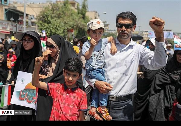 مظاهرات يوم القدس في ارجاء ايران 22