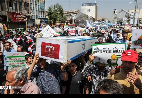 مظاهرات يوم القدس في ارجاء ايران 24