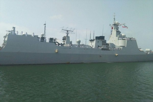 انطلاق المناورات العسكریة المشتركة الايرانية الصينية في المياه الخليجية