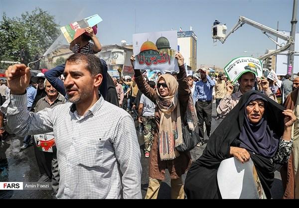 مظاهرات يوم القدس في ارجاء ايران 25