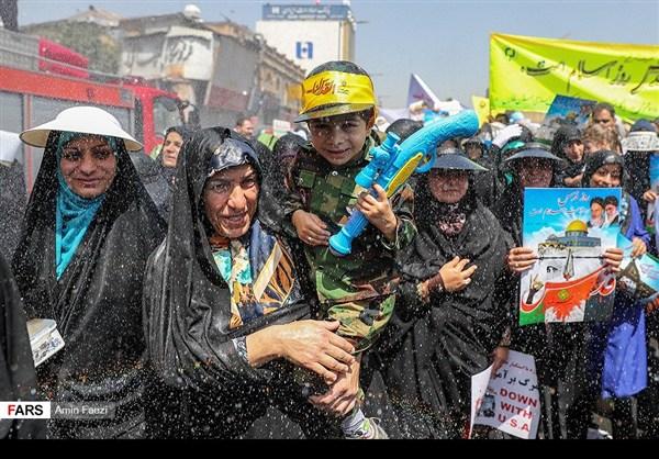 مظاهرات يوم القدس في ارجاء ايران 29