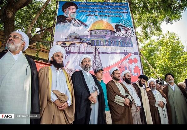 مظاهرات يوم القدس في ارجاء ايران 3