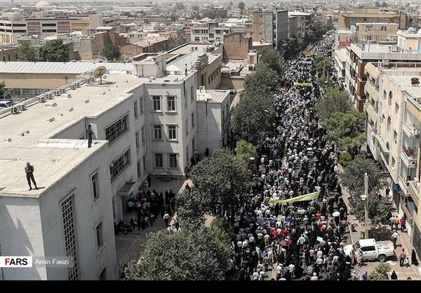 مظاهرات يوم القدس في ارجاء ايران 30