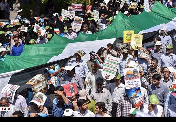 مظاهرات يوم القدس في ارجاء ايران 34