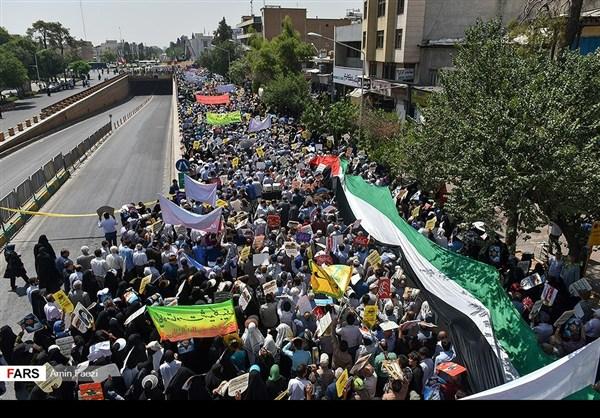 مظاهرات يوم القدس في ارجاء ايران 37