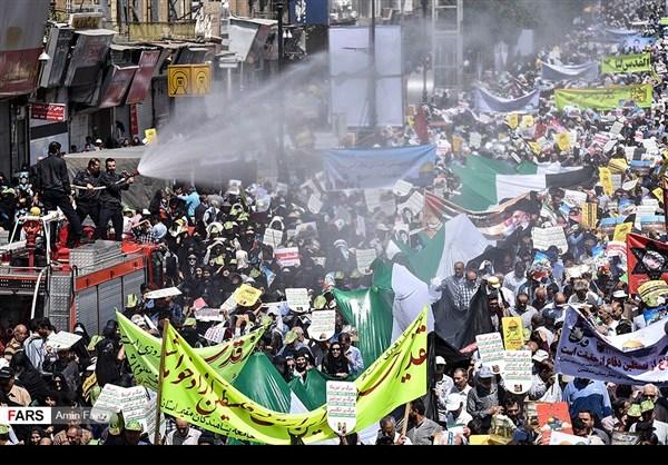 مظاهرات يوم القدس في ارجاء ايران 38