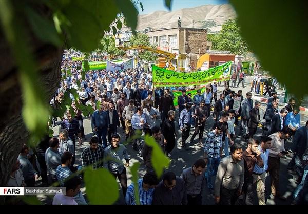 مظاهرات يوم القدس في ارجاء ايران 4