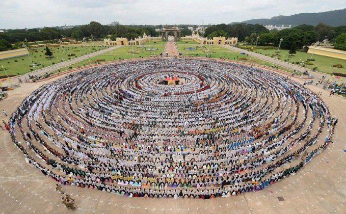 برگزاری مراسم روز جهانی یوگا در بیش از ۱۰۰ کشور جهان5