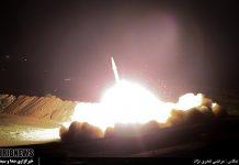 حمله موشکی ایران به سوریه