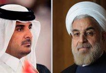 تاکید روحانی بر حمایت ایران از قطر