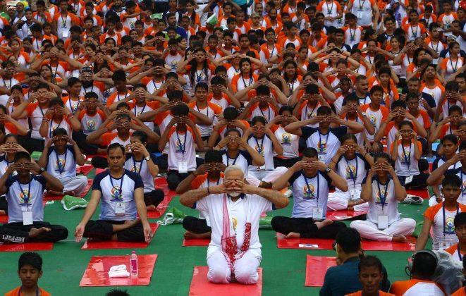 برگزاری مراسم روز جهانی یوگا در بیش از ۱۰۰ کشور جهان8