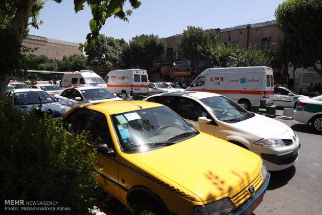 مشاهد من الهجوم المسلح على البرلمان الايراني 8