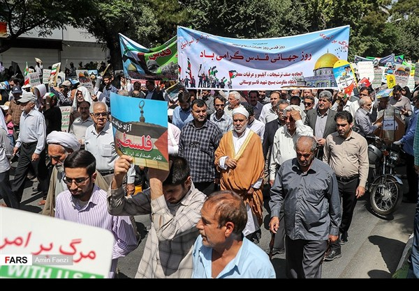 مظاهرات يوم القدس في ارجاء ايران 9
