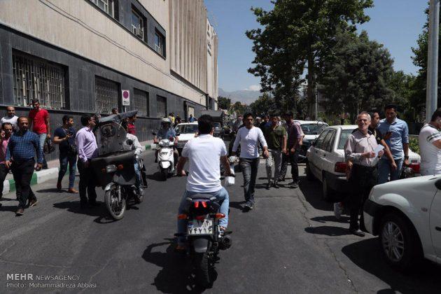 مشاهد من الهجوم المسلح على البرلمان الايراني 9