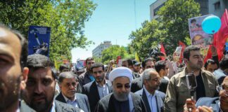 Hassan Rouhani in Quds day
