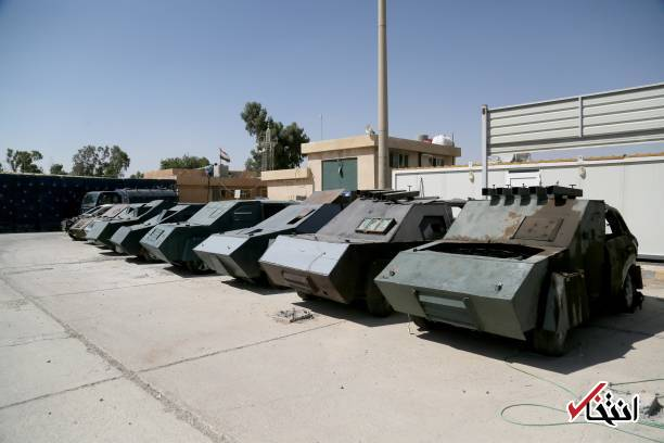 isis suicide vehicles on show in iraq u2019s mosul