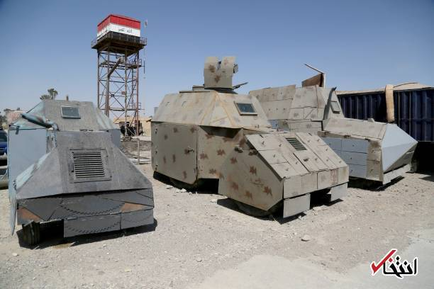 Isis Suicide Vehicles On Show In Iraq S Mosul