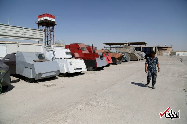 Cars For Less >> ISIS Suicide Vehicles on Show in Iraq's Mosul