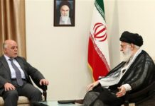 Iran Leader to Iraqi PM-Don't Trust US