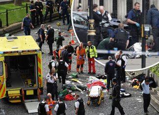 زیر گرفتن عابران پیاده توسط یک خودرو در لندن