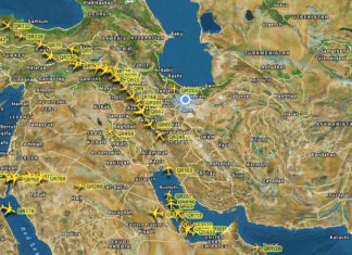 Qatari Airlines Using Iran's Airspace amid Row with Neighbours
