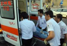 اصابة 56 شخصا في اصطدام قطاري مترو الانفاق بطهران